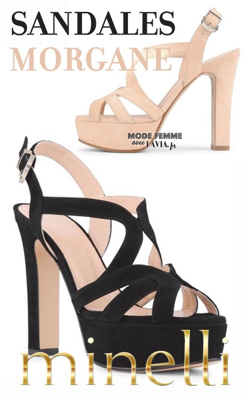 Sandales compensées Minelli 2015