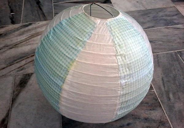 luminária japonesa, colorida, craft, colagem, diy, faça você mesma