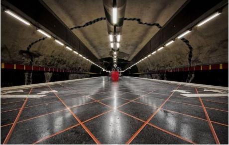 Seni Bawah Tanah di Stesen Metro di Stockholm yang Menakjubkan (12 Gambar)