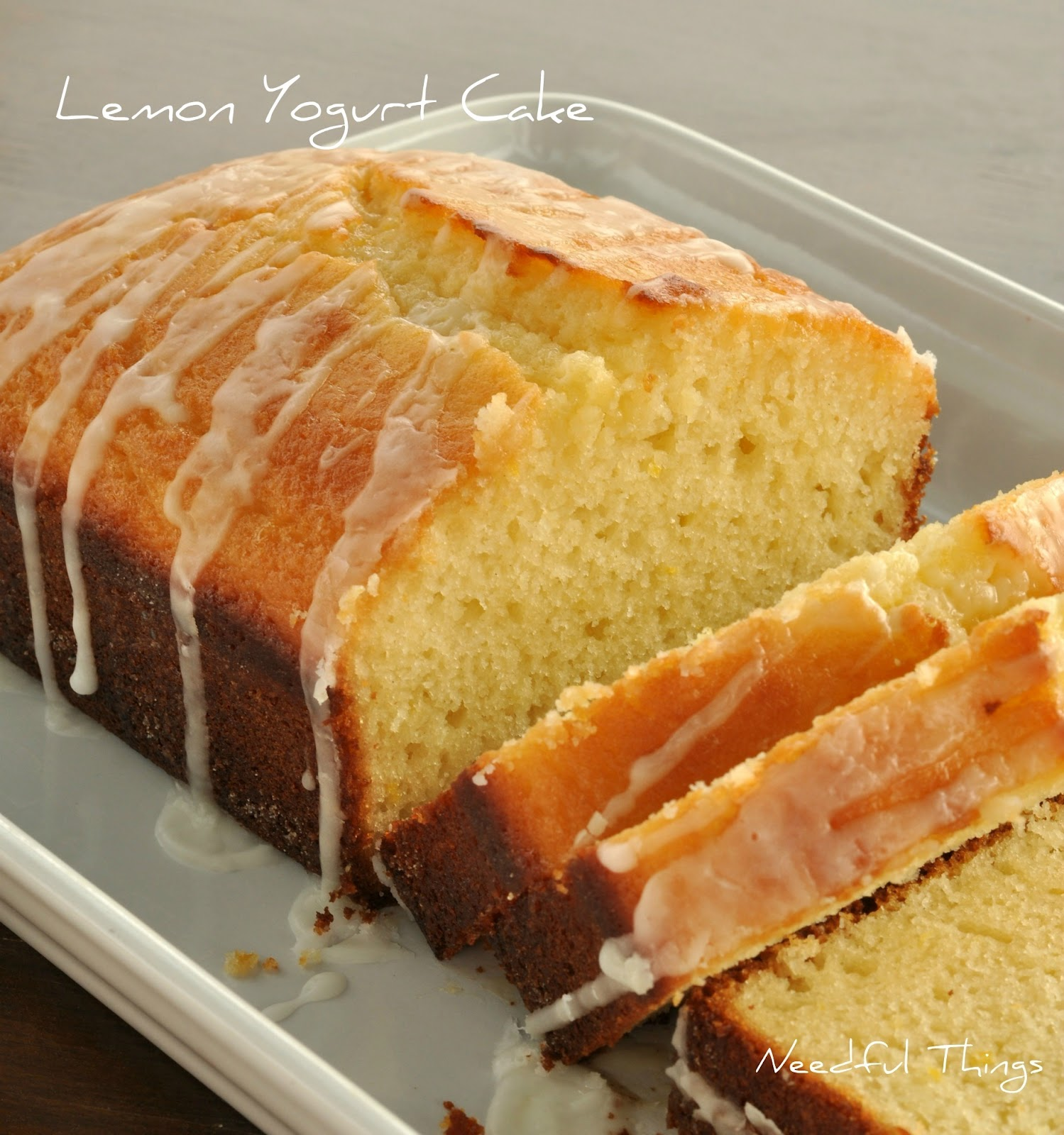 Needful Things: Lemon Yogurt Cake