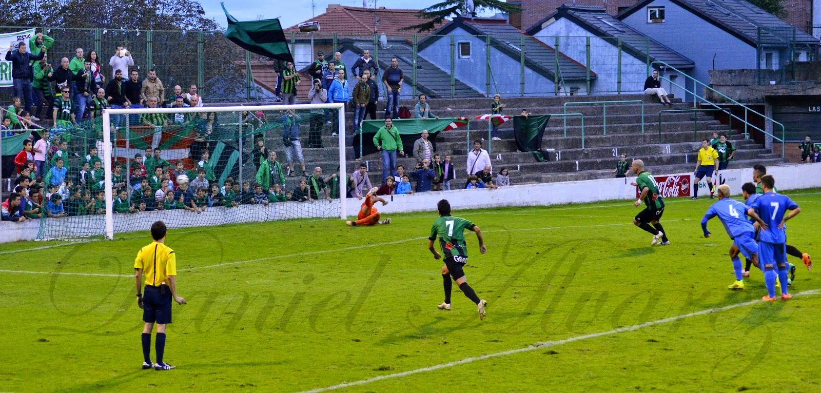 Imágen del gol de Jito ante el Getafe B