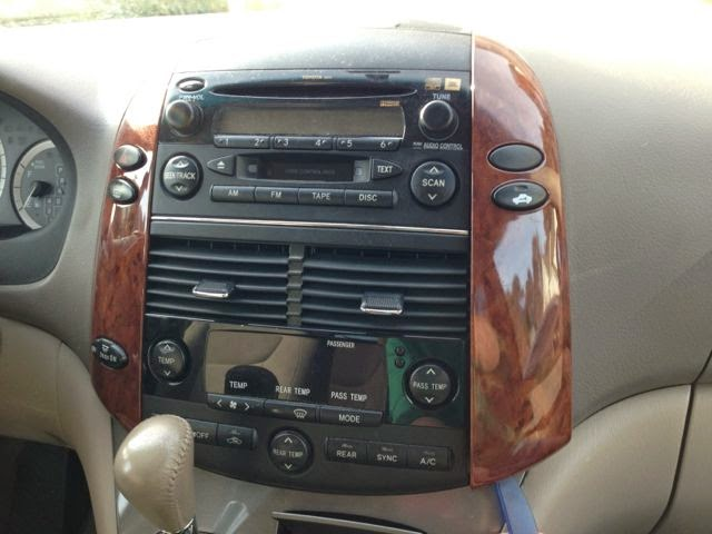 toyota sienna stereo upgrade