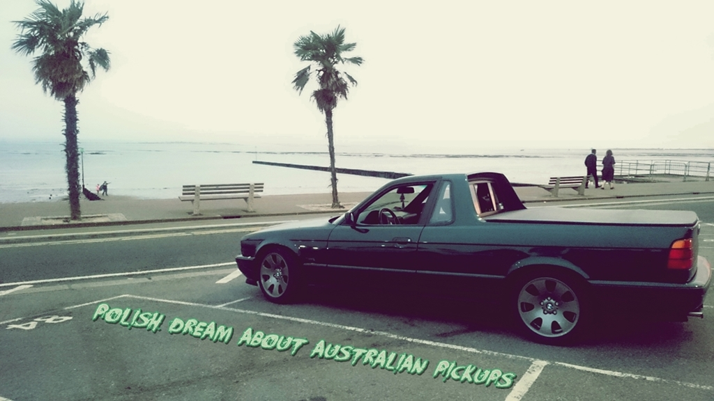 BMW E34 ute pickup pick-up