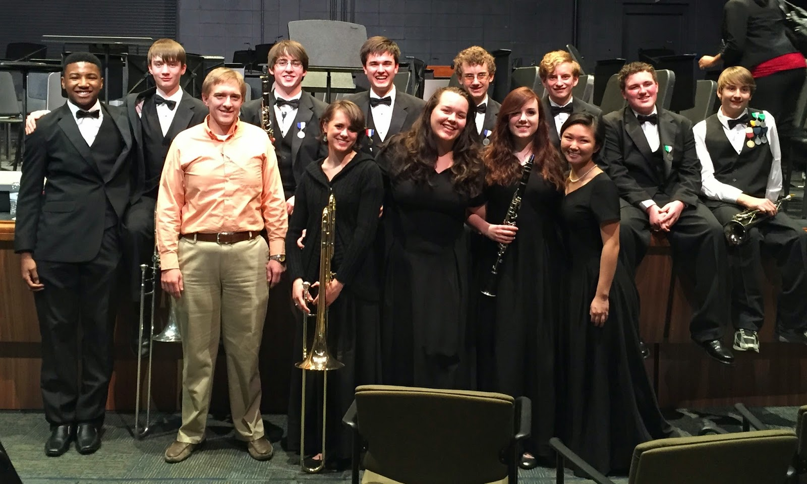 16 Montgomery Catholic Band Members selected for Alabama State and District Honor Band 1