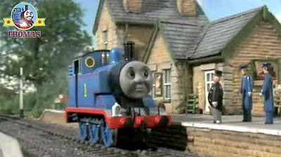 Green engine Emily's runaway imagination the Fat Controller did speck to Thomas tank Maron station