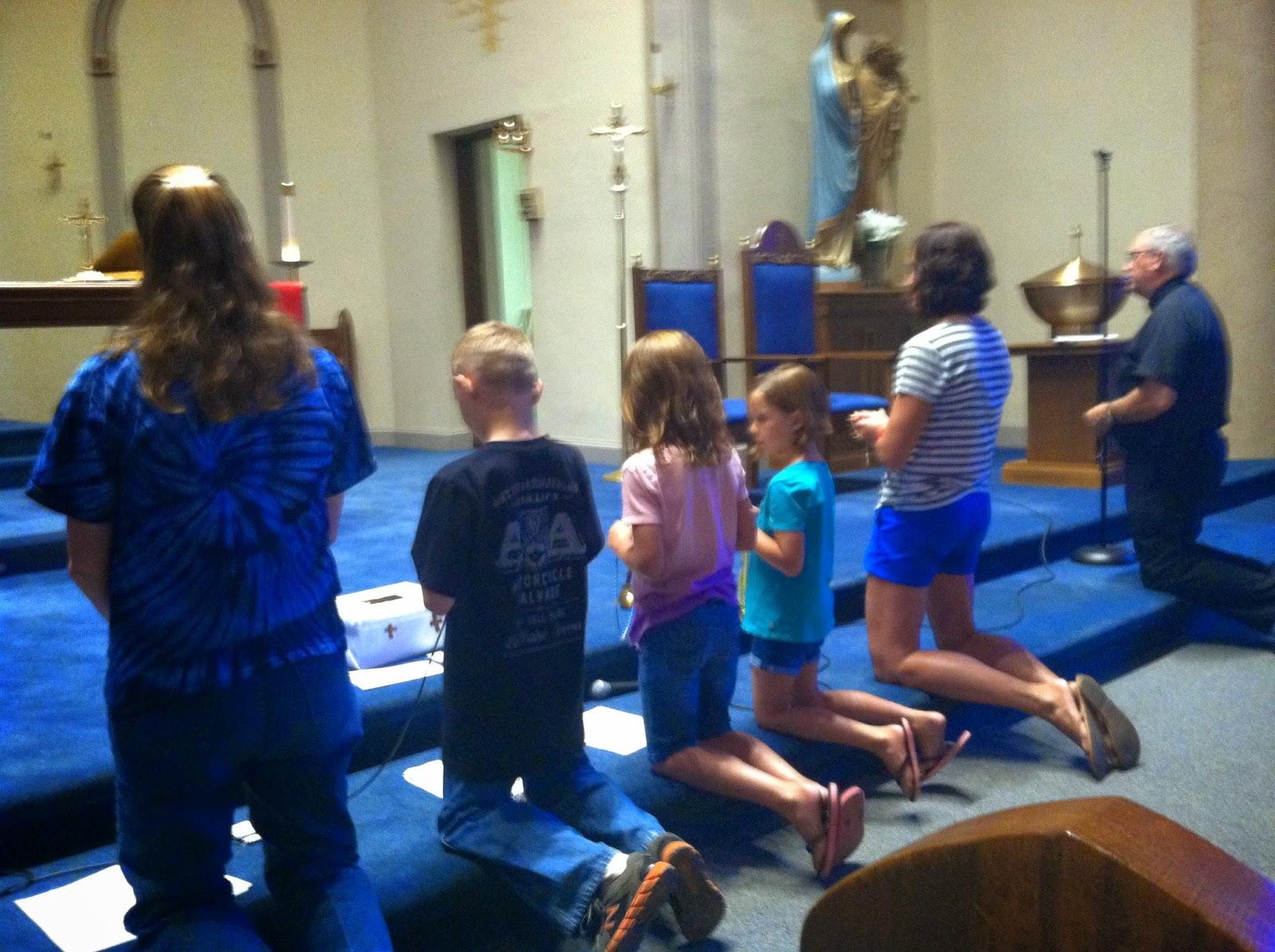 Children S Rosary Starting The School Year In Prayer