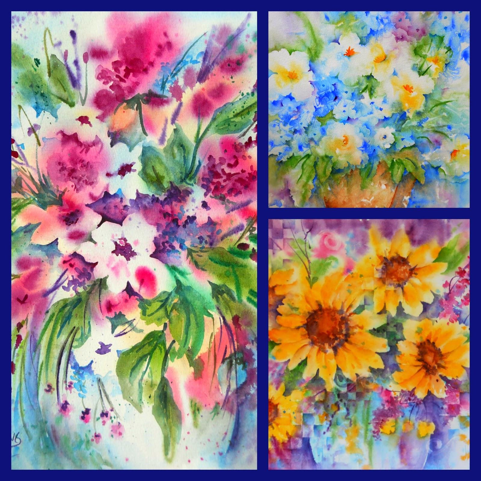 Martha kisling art with heart creative watercolor 2014 flowers creative watercolor 2014 flowers in january izmirmasajfo