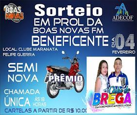 SORTEIO BENEFICENTE BOAS NOVAS FM