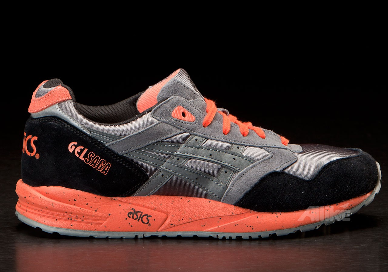 Asics Gel Saga Gray/Orange