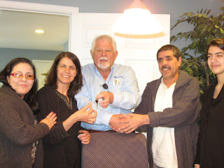 Congratulations to Four New Homeowner Families!