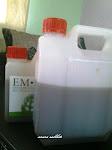 EM.4  harga : 1 liter rm10  /  5 liter  rm35