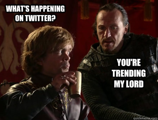 Tyrion Lannister Trending game of thrones memes