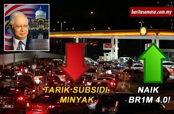 Permohonan BR1M 4 0 Berjumlah 8 Juta Tarik Subsidi Minyak Lebih RM1 1 Bilion
