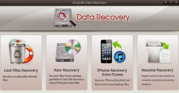 iOrgSoft Data Recovery Serial key | Full version Free