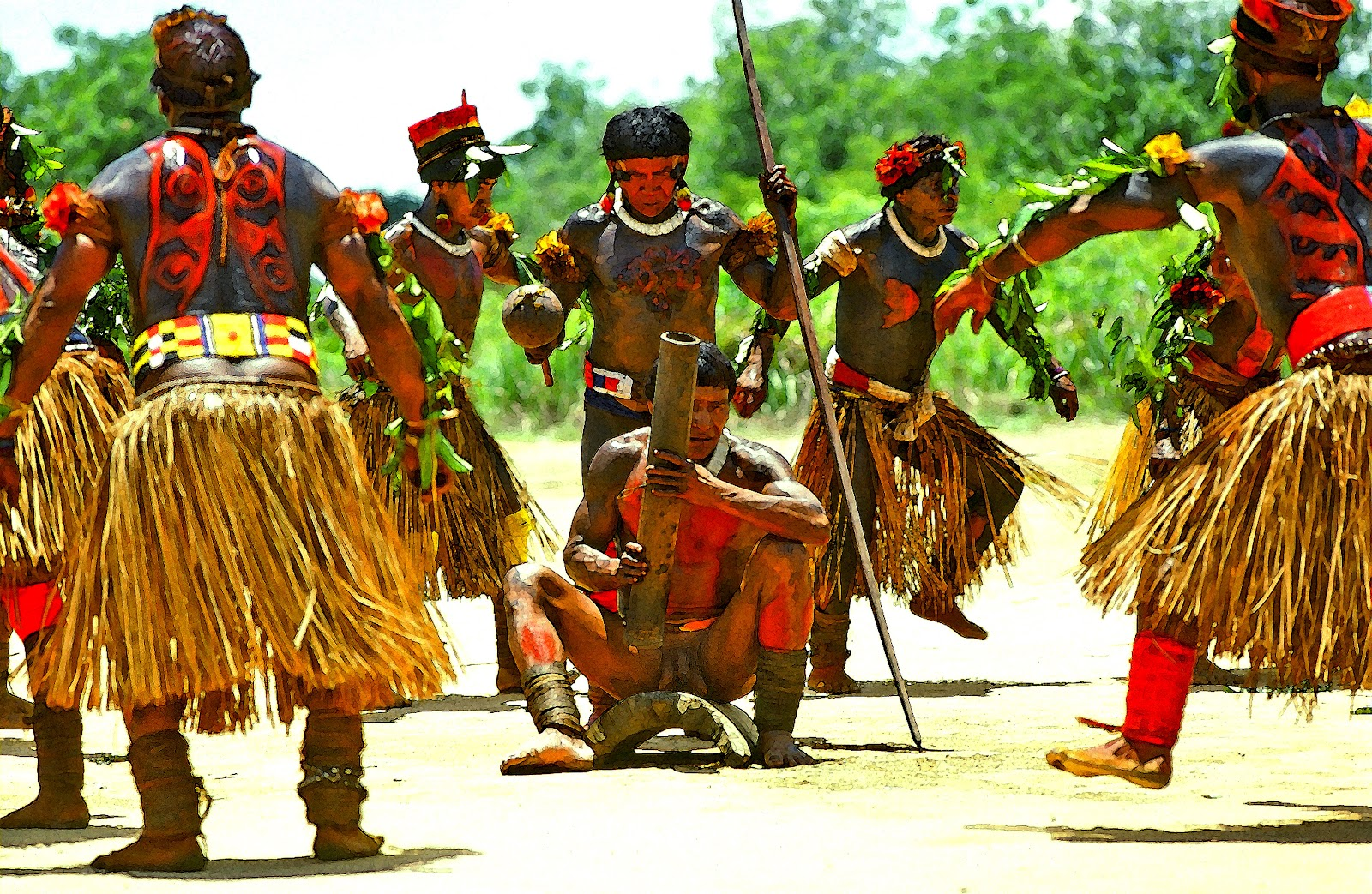 an analysis of the kalapalo indians of central brazil Information on the native american tribes and languages of brazil, with recommended books on brazilian indians and their culture.