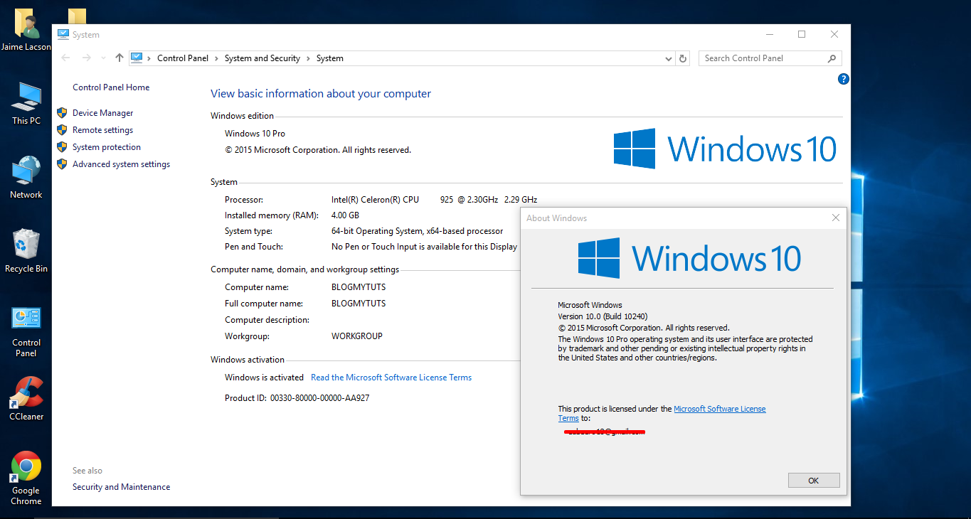 Windows 10 rtm th1 build 10240 download full version before microsoft will first roll out build 10240 to its windows 10 testers and the company is now focused on patches and fixes that will also roll out alongside ccuart Choice Image