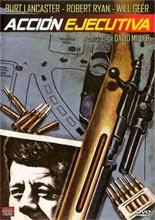 Acción ejecutiva | 1973 | Cartel El asesinato de Kennedy