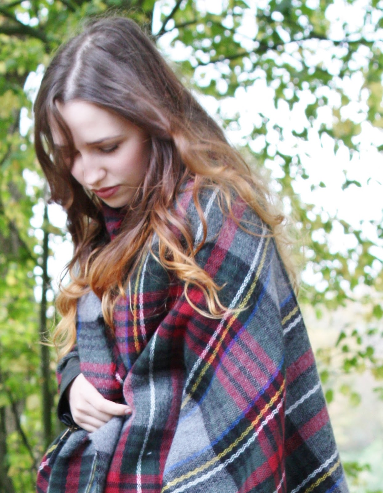 Outfit - Primark Blanket Scarf Autumn 2014