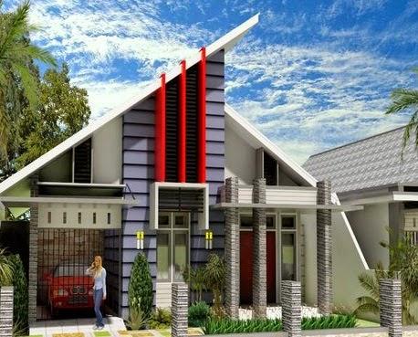 Desain Atap Rumah Minimalis 1