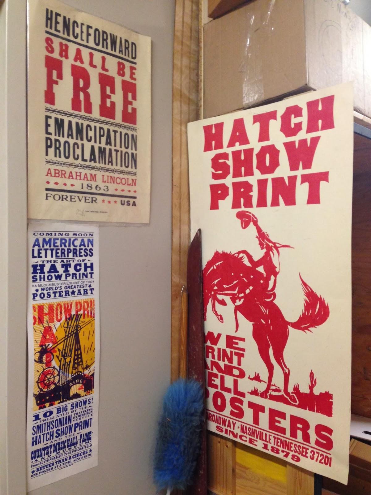 HATCH SHOW PRINT NASHVILLE | RETRO PRESS