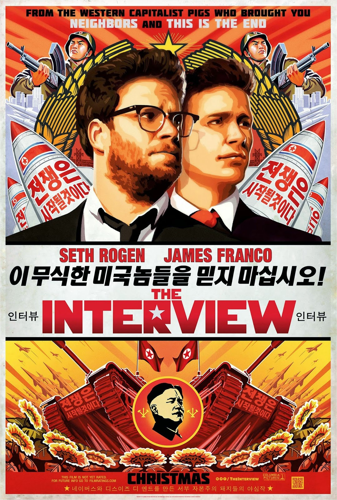 'The Interview' is more of the same for Rogen and Franco