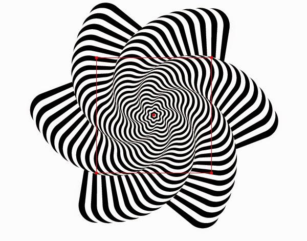 Line Art Step By Step : Desenhando com lápis desenhos opt art a ilusão de ótica