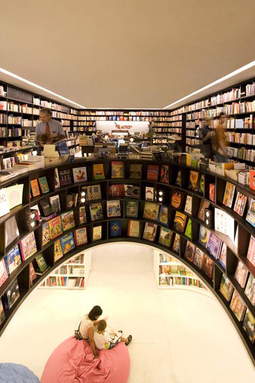 Livraria void walls