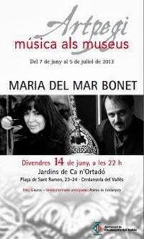 Maria del Mar Bonet - Artpegi