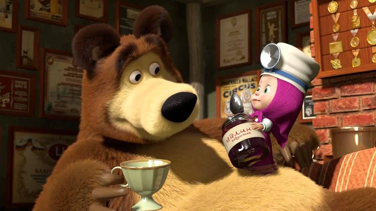 Masha e orso altro che dolce amicizia ecco la fiaba