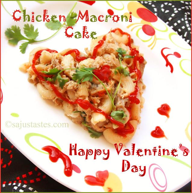 Chicken Macaroni Cake