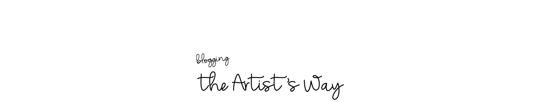 Blogging the Artist's Way
