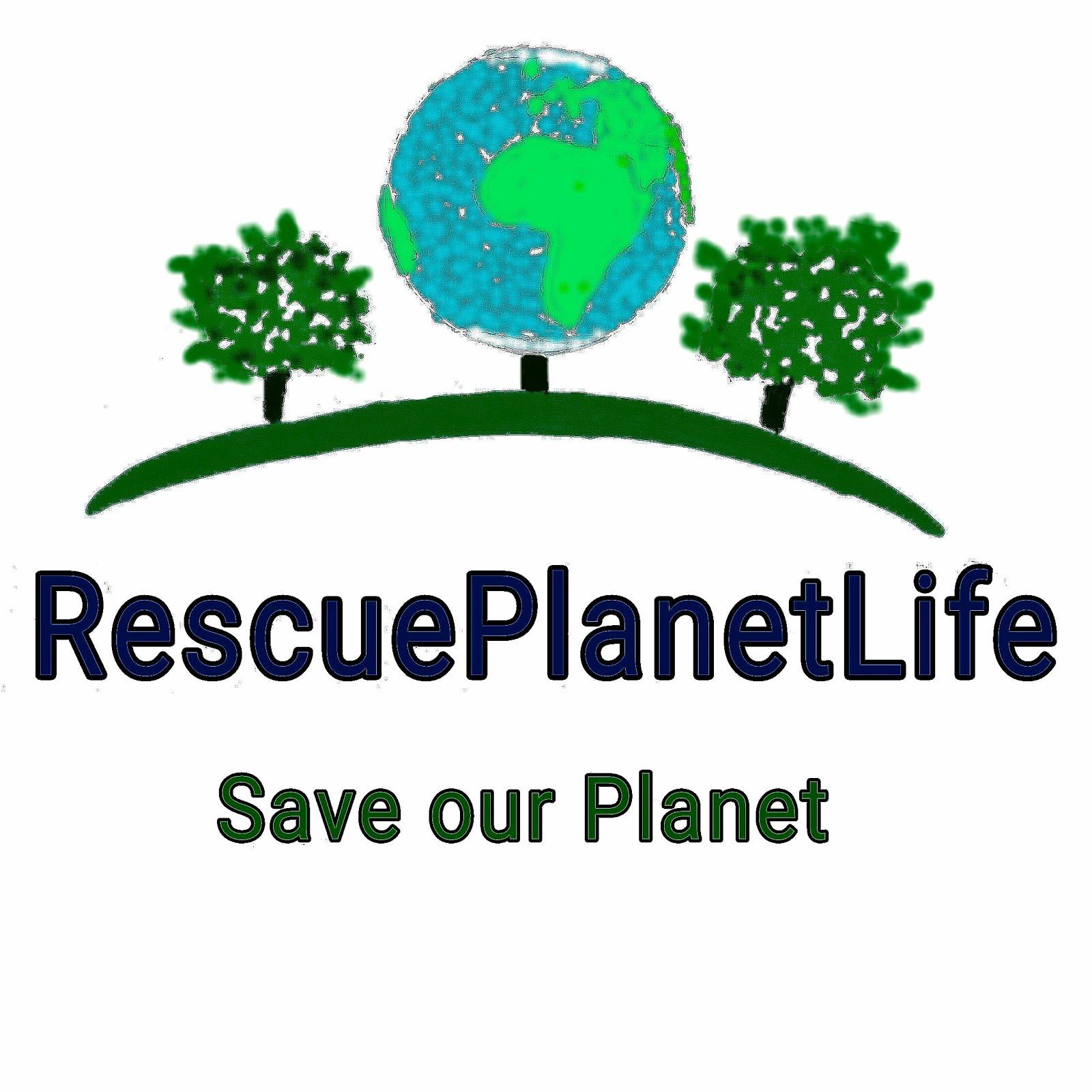 RescuePlanetLife Logo