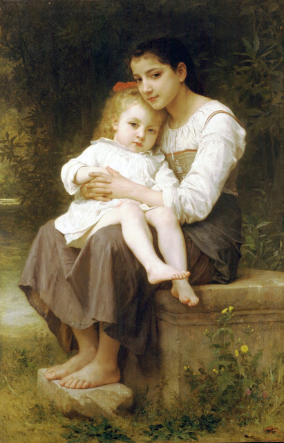 sisters,William Adolphe Bouguereau,5 stars