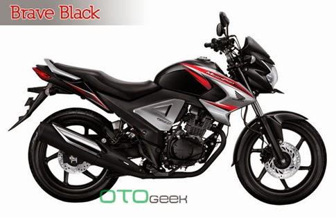 Honda New MegaPro Fi Brave Black