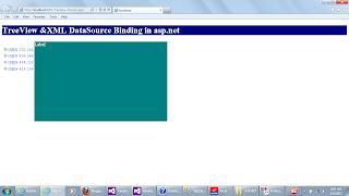TreeView and XmlDataSource Binding in asp.net using C#/VB.NET