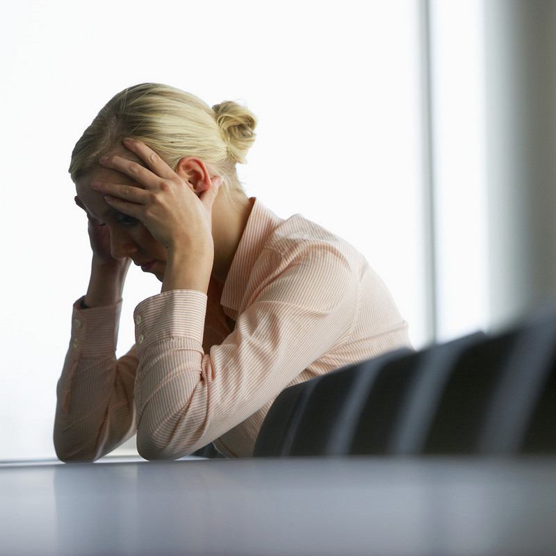 Migraines at work can affect confidence and self esteem