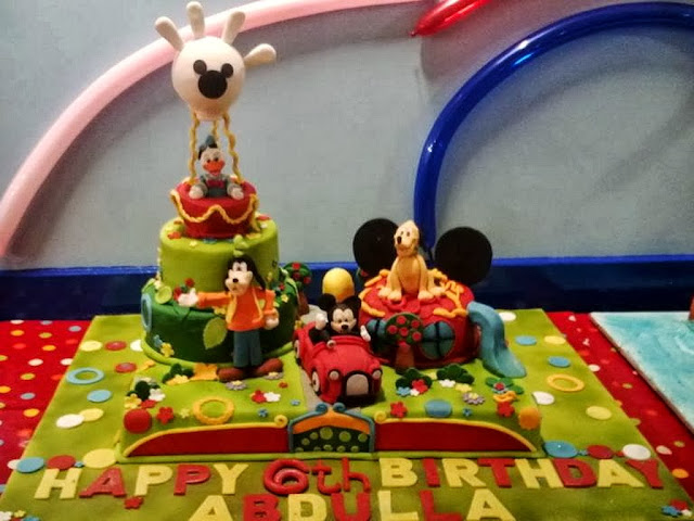 Mickey Mouse Clubhouse Birthday Cake in Chelsea London