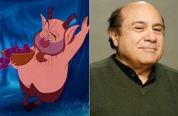 Os personagens da Disney na vida real - Phil – Danny De Vito
