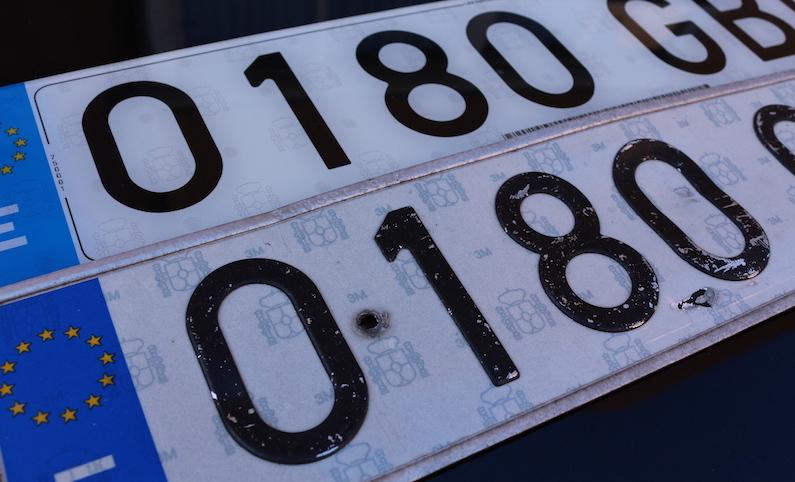 Matr culas acr licas top 10 coches com - Matricula coche hoy ...