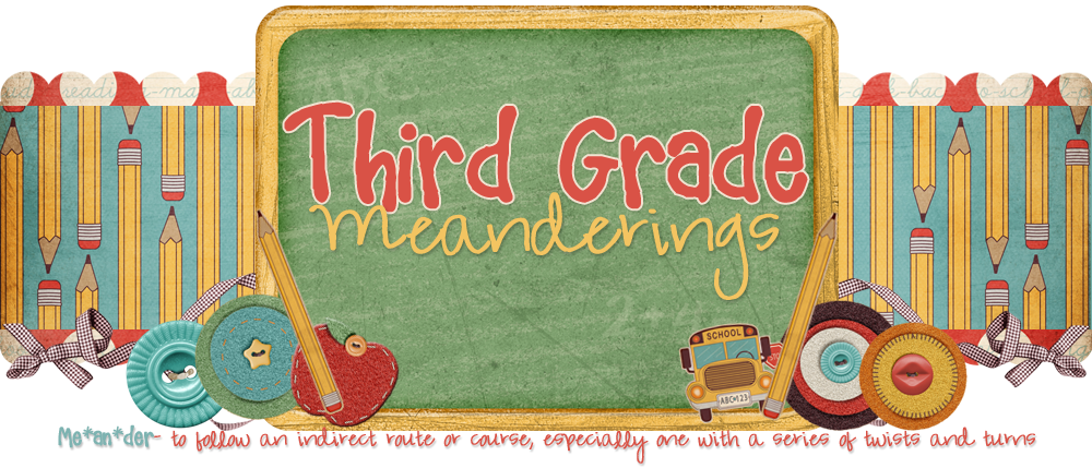 Third Grade Meanderings