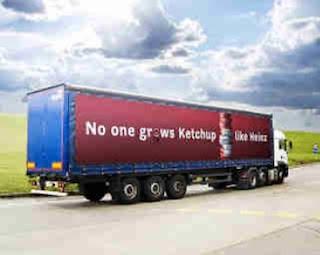 Ketchup truck
