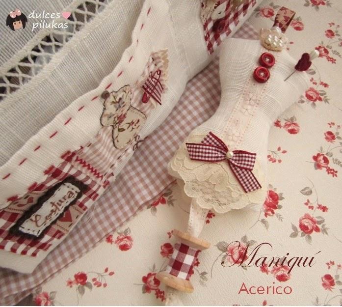 Haz un acerico en forma de maniquí para tus tareas de costura