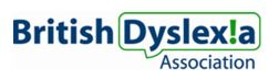 Click here to find a specialist dyslexia tutor from the BDA network.