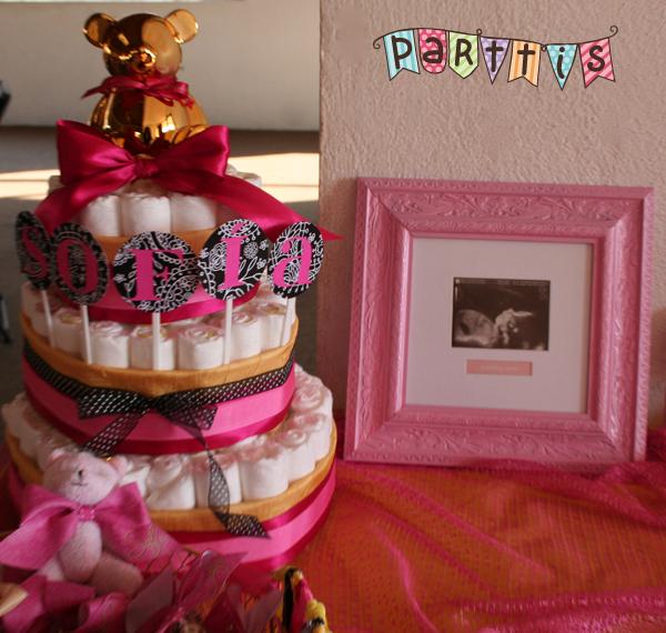 Parttis baby shower de mariel sof a est por llegar - Peceras pequenas decoradas ...