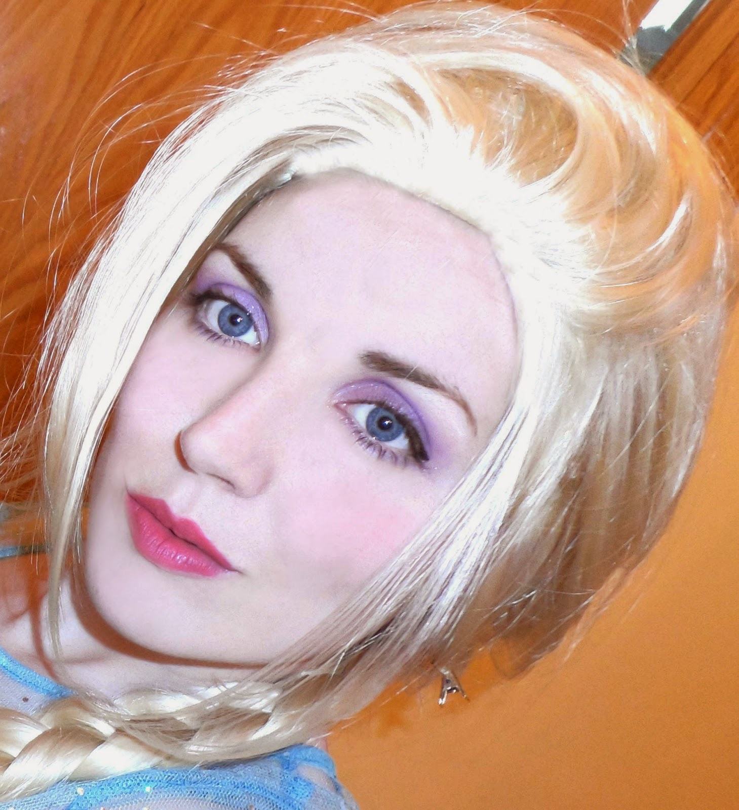 maquillaje elsa frozen