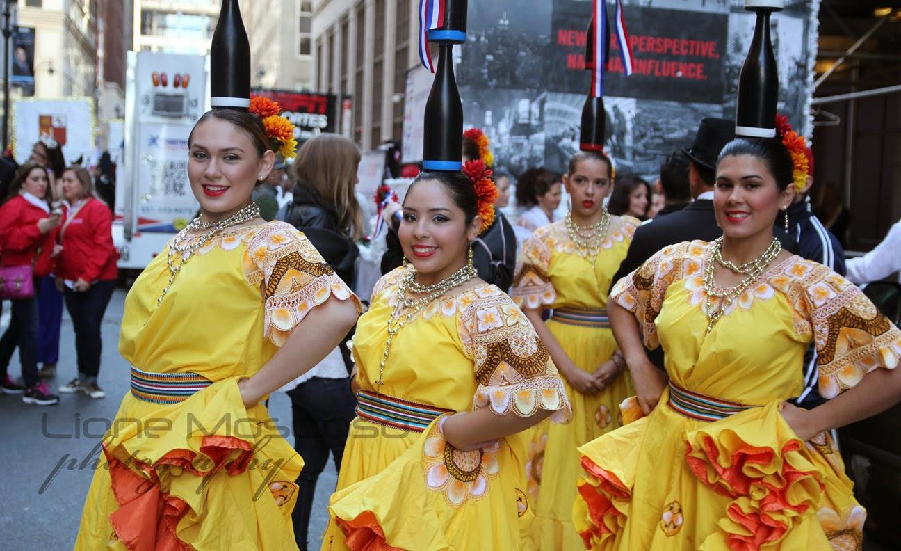 Desfile de la hispanidad de Nueva York 2014