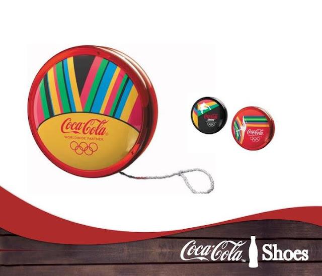 Io-iôs Coca-Cola nas Olimpíadas de Londres 2012