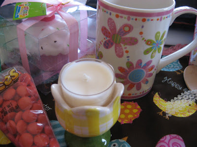 Easter Mug Rug Swap gifts