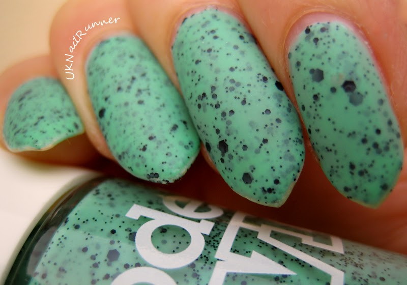 Models Own Speckled Eggs - Magpie (with matte topcoat)
