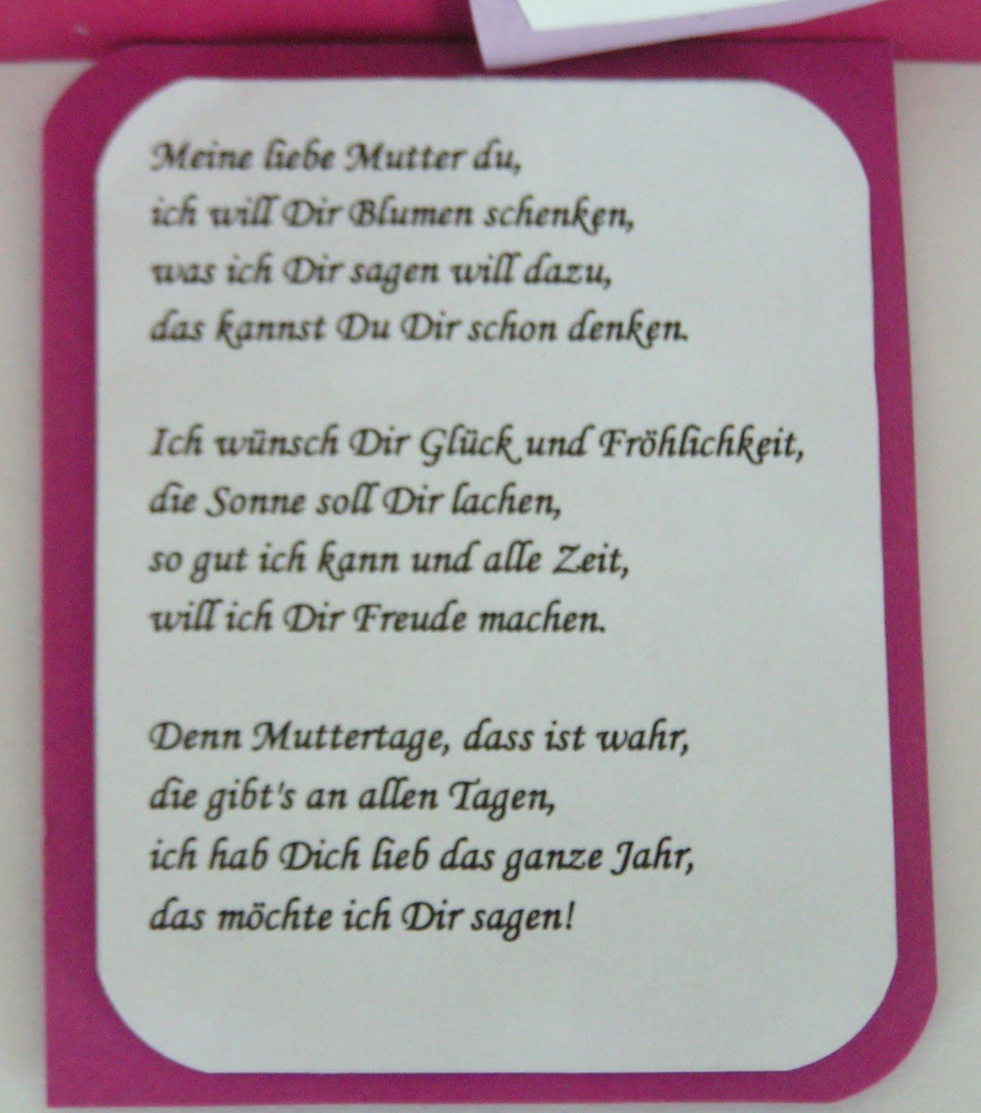 Muttertag für die beste aller mütter